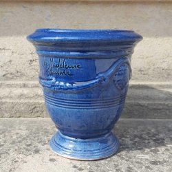 VASE ANDUZE BLEU TRADITION N°7 H14