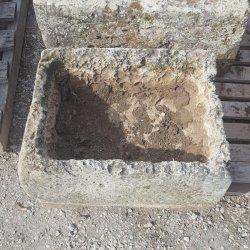 BAC ANCIEN EN PIERRE 45x56CM